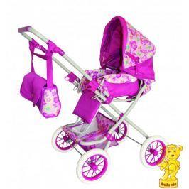 Woody Duży wózek dla lalek różowy