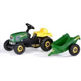 Rolly Toys Traktor Rolly Kid Landini, zielony z przyczepką