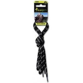 Granger´s sznurowadła Laces Black/Grey 180 cm