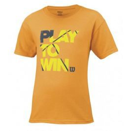 Wilson koszulka B Play To Win Tee Neon Mango S