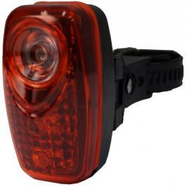 Olpran lampka tylna 3 super red LED black