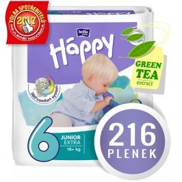 Bella Happy Pieluchy Junior Extra Big Pack - 216 szt. (4x54)