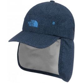 The North Face czapka z daszkiem Youth Party Back Hat Cmic blue denim rain print