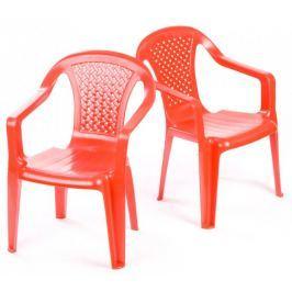 Grand Soleil Dwa krzesła dla dzieci, czerwone