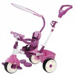 Little Tikes Basic Trójkołowy rowerek 4w1, różowy