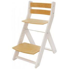 Wood Partner Krzesełko dla dziecka MONY białe, buk