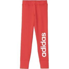 Adidas spodnie sportowe Yg Gu Lin Tight Core Pink /White 140