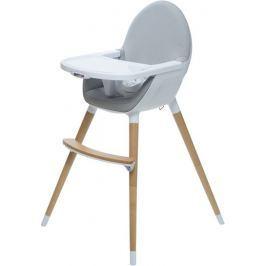 BRITTON krzesełko do karmienia FIKA, szary