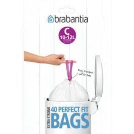 Brabantia Worki do kosza 12L (C), 40 sztuk