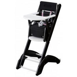 Candide Krzesełko do karmienia Combelle 2w1 EVO, czarno-białe