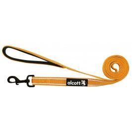 Alcott odblaskowa smycz dla psa  180 cm pomarańcz M