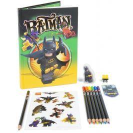 LEGO Batman Movie Notatnik z akcesoriami