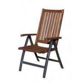 Rojaplast krzesło ogrodowe WELLINGTON, czarne
