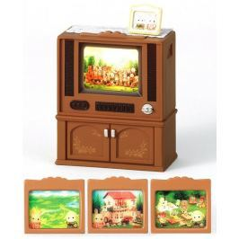 Sylvanian Families Luksusowy telewizor kolorowy 2924