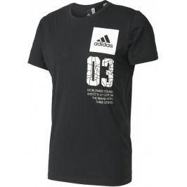 Adidas koszulka City London Black M