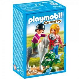 Playmobil Spacer z kucykiem 6950
