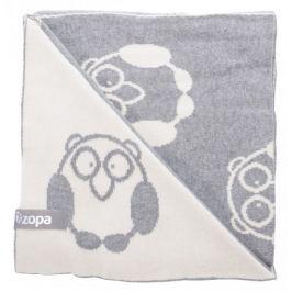 ZOPA Kocyk dziecięcy Little Owl, Grey
