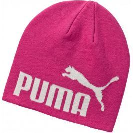 Puma czapka ESS Big Cat Beanie Fuchsia Purple-NO 1