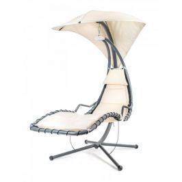 Happy Green wiszące krzesło SAN REMO - beż