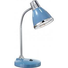 Ideal Lux Lampka na biurko Elvis, niebieski