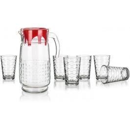 Pasabahce Zestaw dzbanek ze szklankami HABITAT 7el