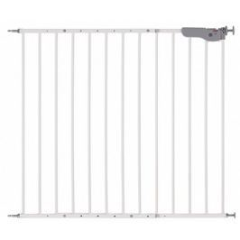 Reer Bramka ochronna S Active-Lock metalowa/biała, 73 -110 cm