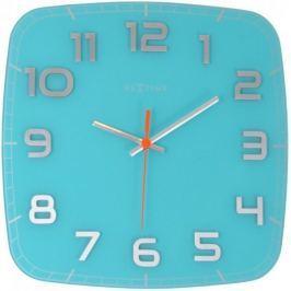NEXTIME zegar Classy square, turkusowy