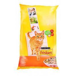 Friskies sucha karma dla kota Cat Adult z drobiem - 10 kg