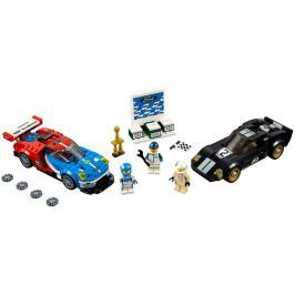 LEGO Speed Champions 75881 2016 Ford GT & 1966 Ford GT40 z roku 1966