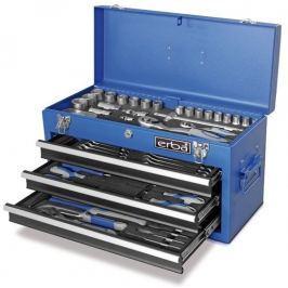 Erba zestaw narzędzi w metalowym kufrze, 116 szt (ER-03178)