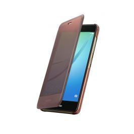 Huawei etui z klapką dla Nova, brązowe