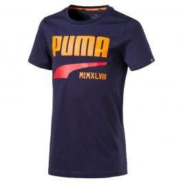 Puma Koszulka STYLE Graphic Tee Peacoat 140