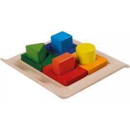 Plan Toys zabawka do sortowania kształtów z podstawką