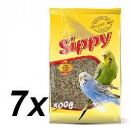 Akinu sippy deluxe - papużki faliste - 7 x 500g