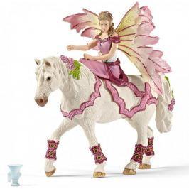 Schleich Elf Feya na koniu