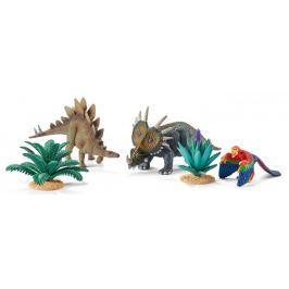Schleich Zestaw prehistorycznych zwierząt i rośli