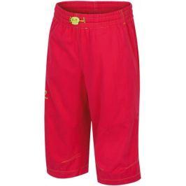 Hannah spodnie 3/4 Ruffy JR Rose red 128