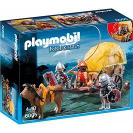 Playmobil Zamaskowany powóz rycerzy herbu Sokoła 6005