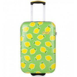 REAbags Walizka B.HPPY S. Lemon, zielona
