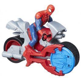 Spiderman Figurka Spider-Man 15 cm z pojazdem