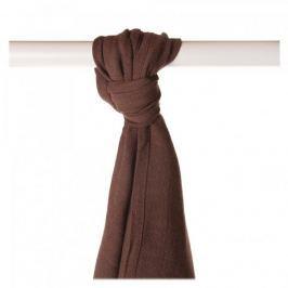 XKKO Bambusowy ręcznik/pieluszka 90x100cm, Dark Choco