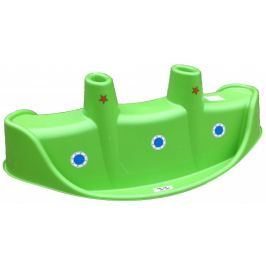 Marian Plast Huśtawka na biegunach - Parowiec, zielony