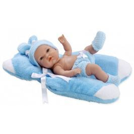 Arias Pachnąca lalka niemowlę, niebieska