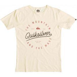 Quiksilver koszulka Slub Scriptville M Tees Trans Yellow S