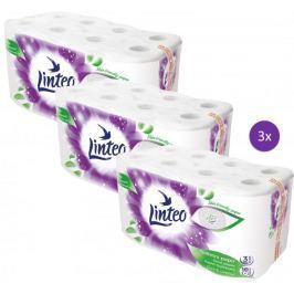 LINTEO satin papier toaletowy – 3 x 16 szt