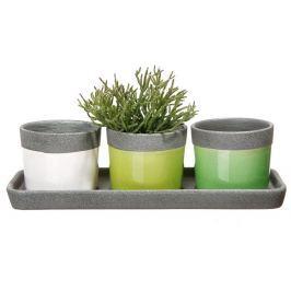 Planta Zestaw doniczek ceramicznych, 3 szt.