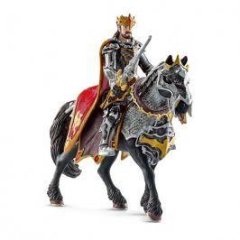 Schleich Król na koniu