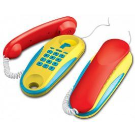 Teddies Telefony stacjonarne na baterie 2 sztuki
