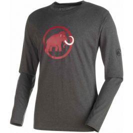 Mammut Logo Longsleeve M graphite melange M
