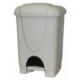 Mazzei Kosz na śmieci BINNY z pedałem 6 l, biały